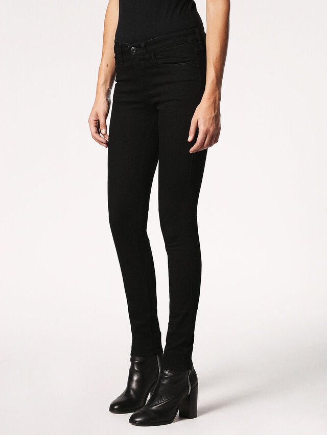 SKINZEE 0813E, Black denim