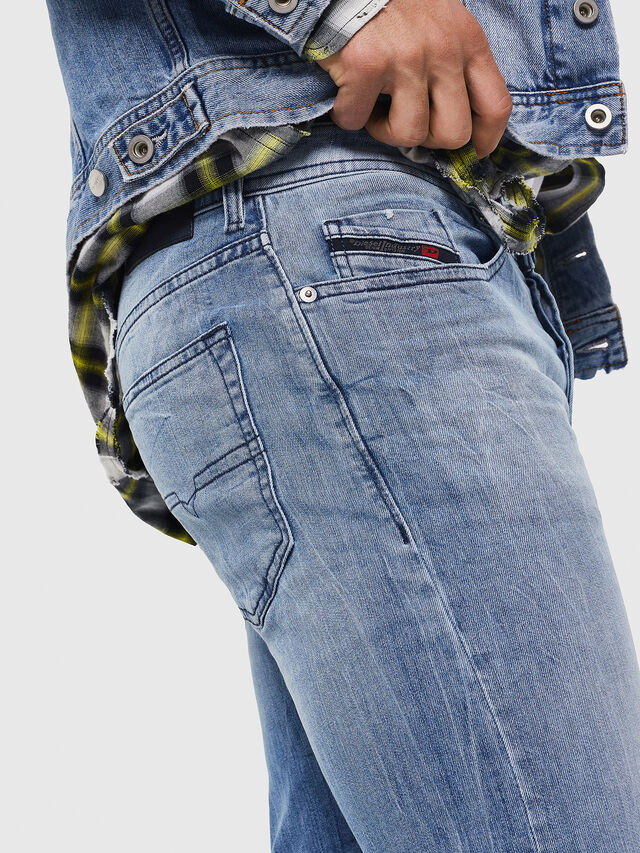 Diesel - Buster 081AL, Light Blue - Jeans - Image 5