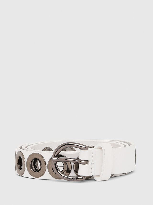 Diesel - B-SPARK, White - Belts - Image 1