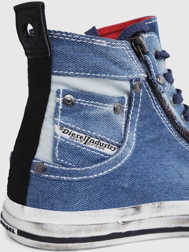 Diesel - EXPO-ZIP W, Blue Jeans - Sneakers - Image 5