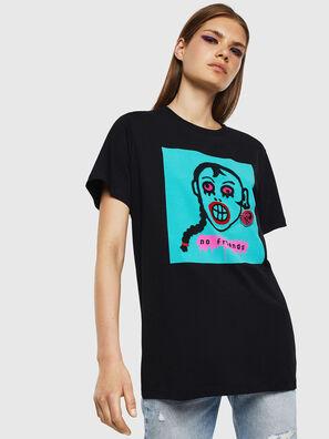 T-DARIA-K, Black - T-Shirts