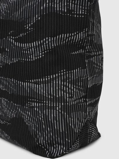 Diesel - D-THISBAG SHOP M, Black - Shopping and Shoulder Bags - Image 6