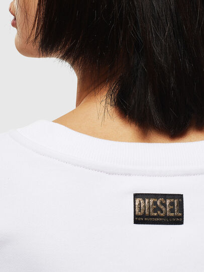 Diesel - CL-F-MAGDA-BIGM, White - Sweaters - Image 4