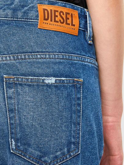 Diesel - Fayza 0079R, Medium blue - Jeans - Image 4