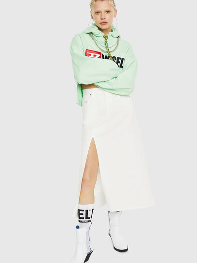 Diesel - F-DINIE-A, Green Fluo - Sweaters - Image 5