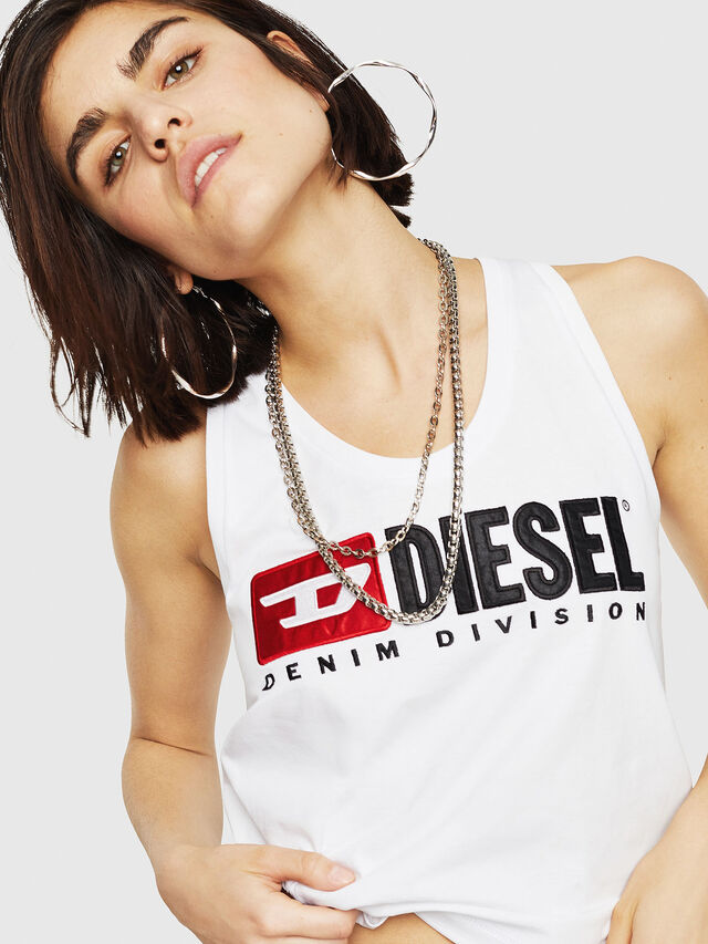 Diesel - T-SYLKY, White - Tops - Image 1