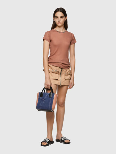 Diesel - T-CHAINE, Light Brown - Tops - Image 4