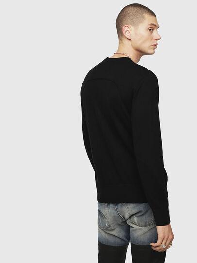 Diesel - K-LAUX, Black - Knitwear - Image 2
