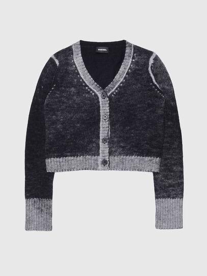 Diesel - KBUSTY, Black/Grey - Knitwear - Image 1