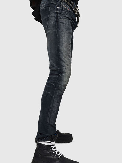 Diesel - Sleenker 0870J, Black/Dark grey - Jeans - Image 3