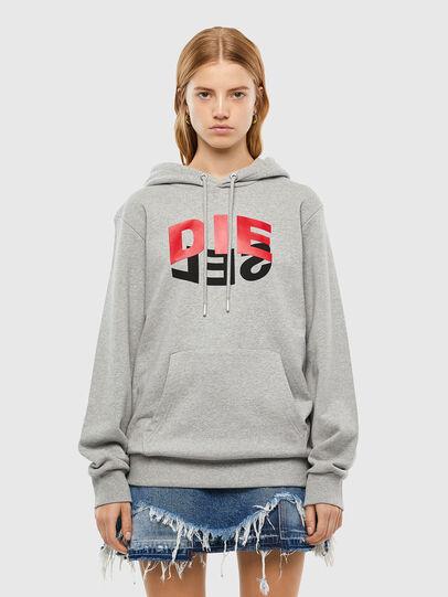 Diesel - S-GIRK-HOOD-N1, Grey - Sweaters - Image 2