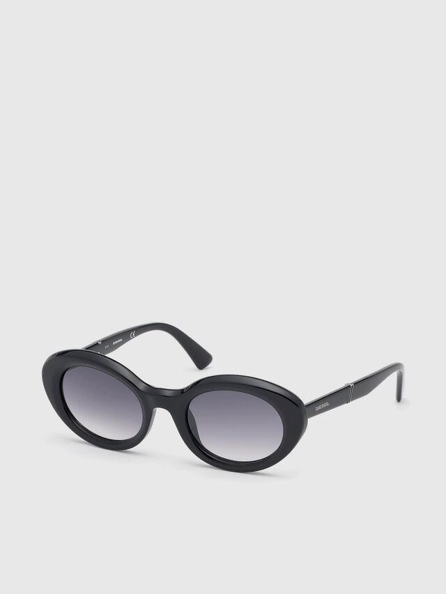 Diesel - DL0281, Black - Sunglasses - Image 2
