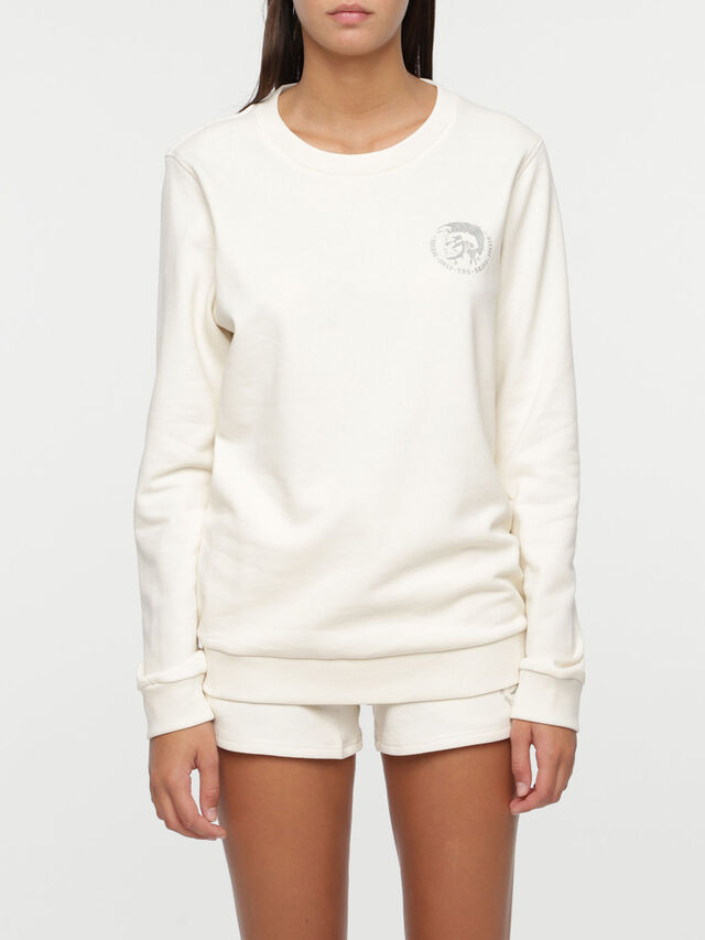 Diesel UFLT-WILLA, White - Sweaters - Image 1