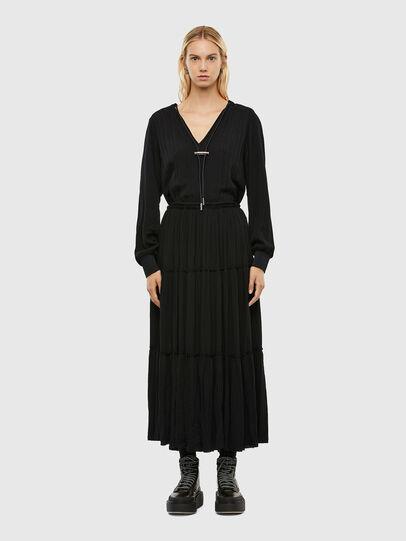 Diesel - D-LINDA, Black - Dresses - Image 1