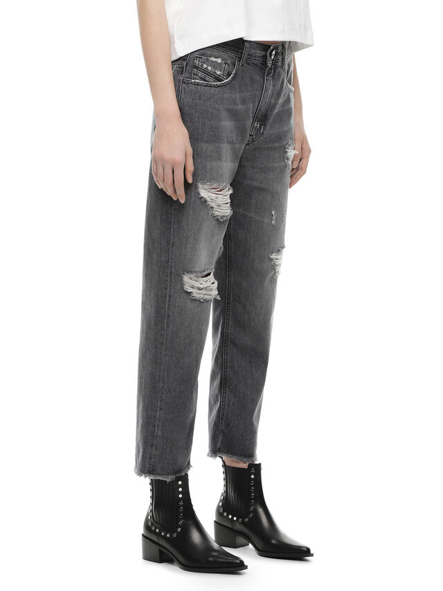 Diesel - TYPE-1815-RE, Grey Jeans - Jeans - Image 3
