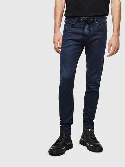 Diesel - Thommer JoggJeans 069MG, Dark Blue - Jeans - Image 1