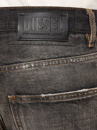 Diesel - D-Kras 009EA, Black/Dark grey - Jeans - Image 5