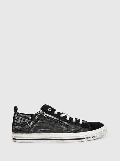 Diesel - EXPO-ZIP LOW, Black - Sneakers - Image 1