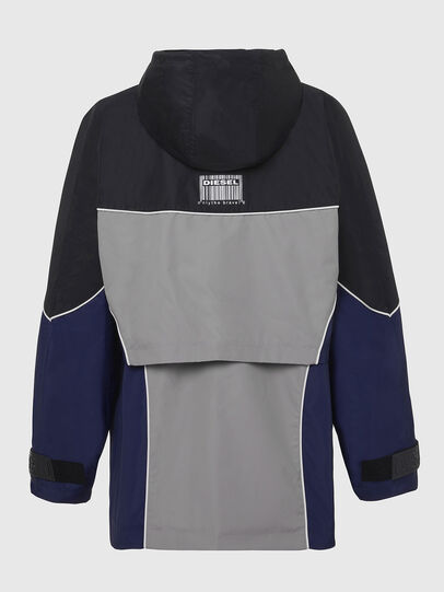 Diesel - W-KOON, Blue/Grey - Winter Jackets - Image 2