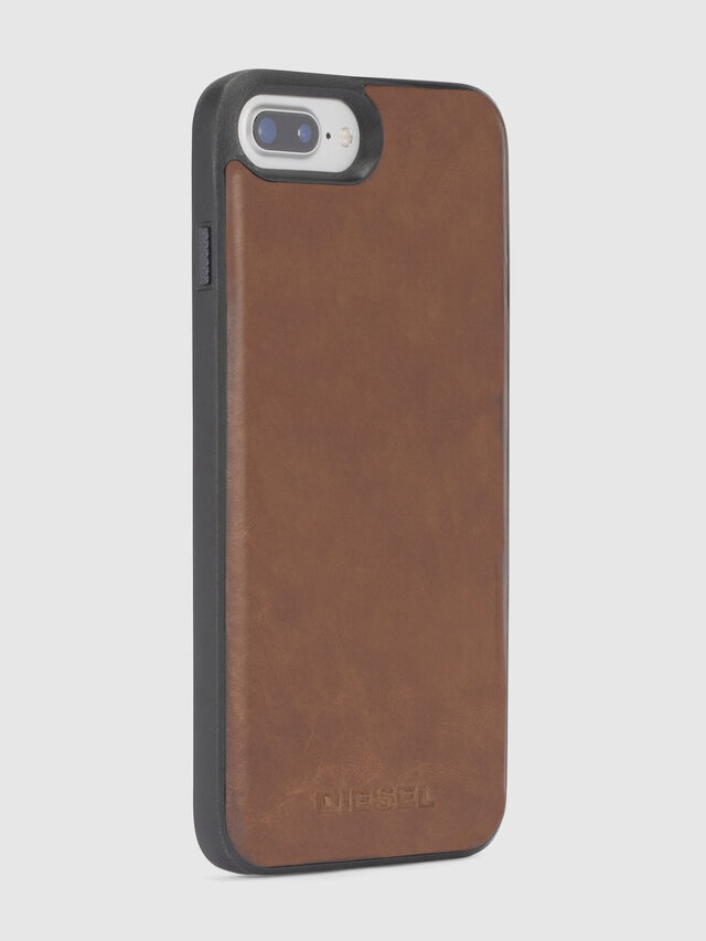 Diesel - BROWN LEATHER IPHONE 8/7/6s/6 CASE, Brown Leather - Cases - Image 5