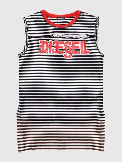 Diesel - TART, Black/White - T-shirts and Tops - Image 1