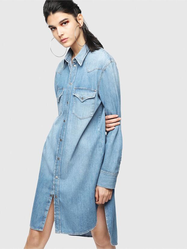 DE-BLANCHE, Blue Jeans - Dresses