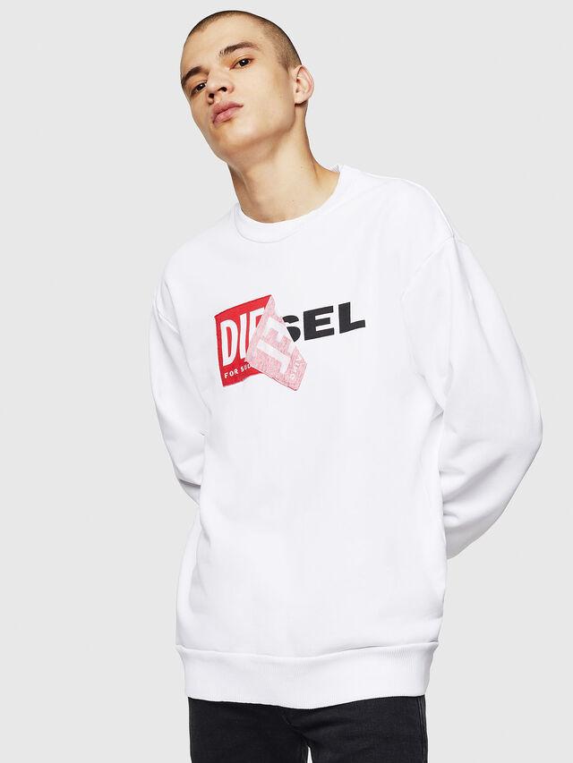 Diesel - S-SAMY, White - Sweaters - Image 5