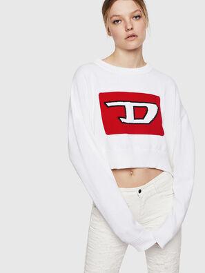 M-LINDA, White - Knitwear