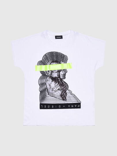 Diesel - TSOLARIX MC, White - T-shirts and Tops - Image 1