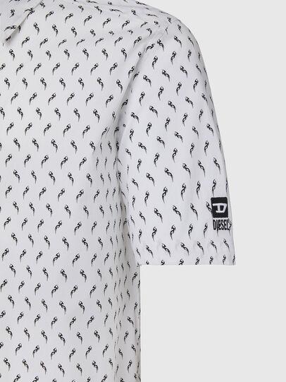 Diesel - S-RILEY-SHO-KA, White - Shirts - Image 3