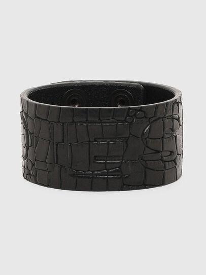Diesel - A-CROCLE, Black - Bijoux and Gadgets - Image 1