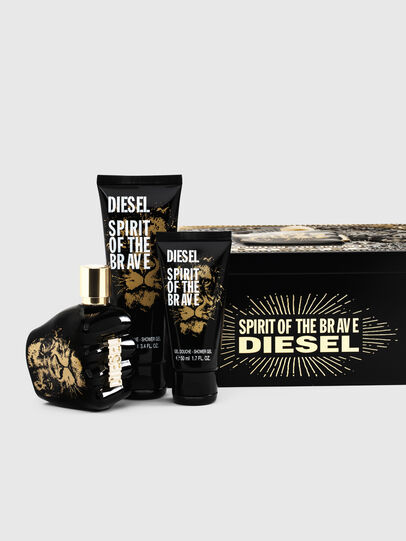 Diesel - SPIRIT OF THE BRAVE 75ML METAL GIFT SET,  - Only The Brave - Image 1