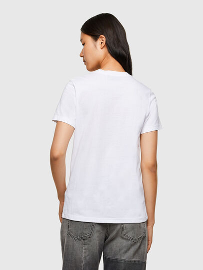 Diesel - T-SILY-R5, White - T-Shirts - Image 2