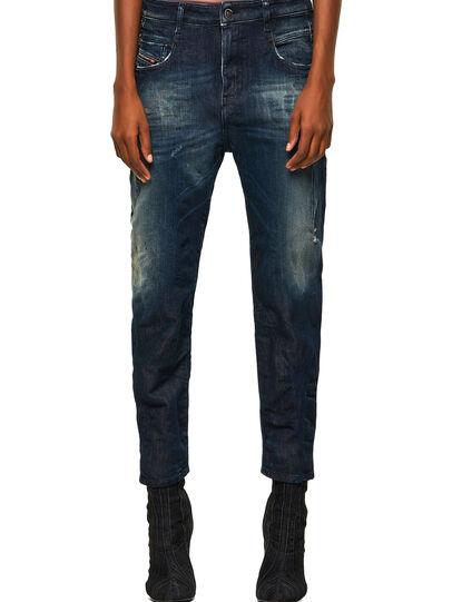 Diesel - Fayza JoggJeans® 09B50, Dark Blue - Jeans - Image 1