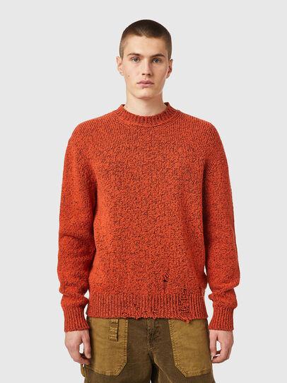 Diesel - K-EVANS, Orange - Knitwear - Image 1