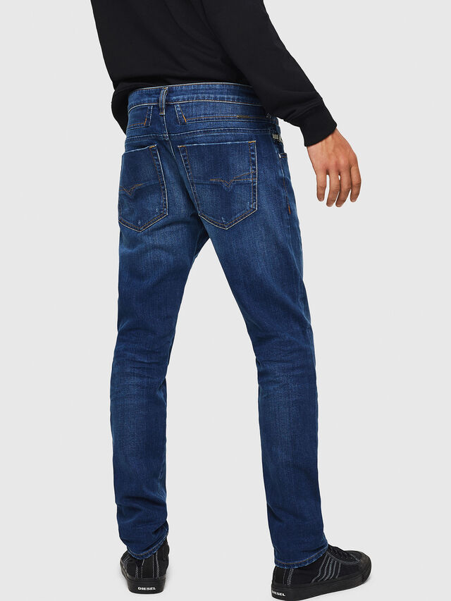 Diesel - D-Bazer 083AZ, Medium blue - Jeans - Image 2