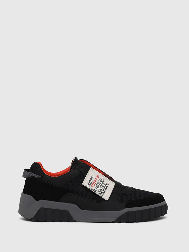 Diesel - S-LE RUA ON, Black - Sneakers - Image 1
