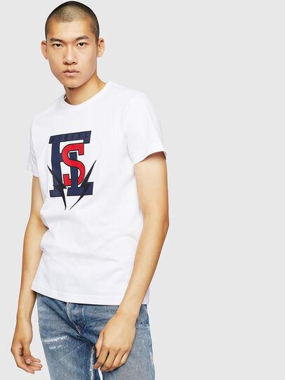Diesel - T-DIEGO-B3, White - T-Shirts - Image 1