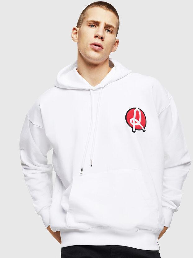 LR-S-GIRK-HOOD-VIC, White - Sweaters