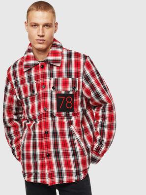 S-JOHNS, Red/Black - Shirts