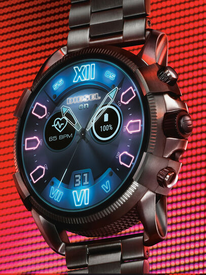 Diesel - DT2011, Metal Grey - Smartwatches - Image 2