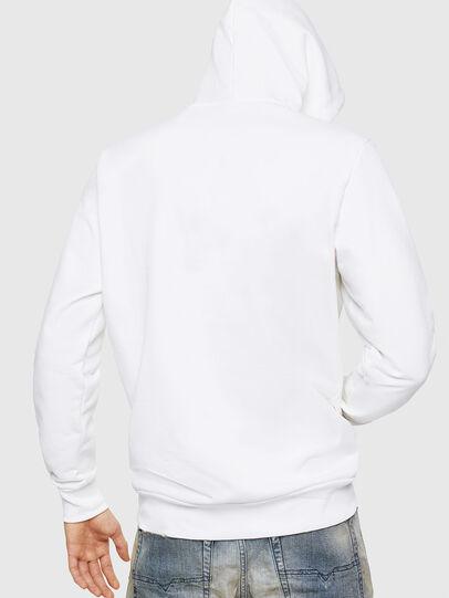 Diesel - S-GIR-HOOD-A1, White - Sweaters - Image 2