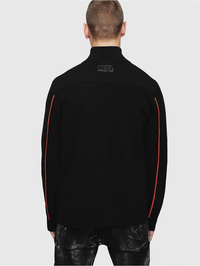 Diesel - K-STETIC, Black - Knitwear - Image 2