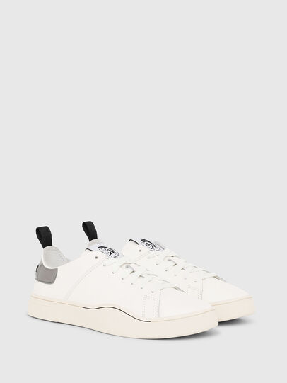 Diesel - S-CLEVER LS W, White/Grey - Sneakers - Image 2
