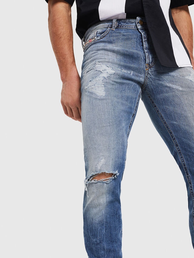 Diesel - Thommer 0090M, Medium blue - Jeans - Image 4