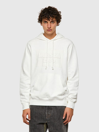 Diesel - DxD-21, White - Sweaters - Image 2
