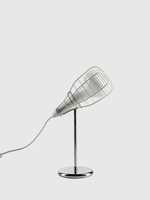 CAGE MIC BIANCO, White - Table Lighting