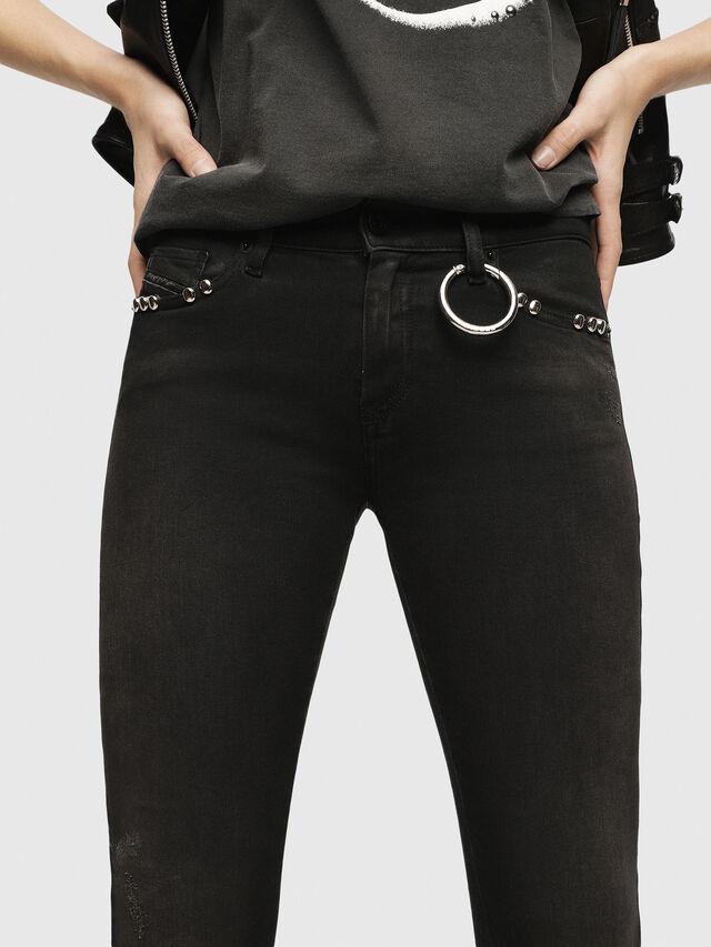 Diesel - Slandy 069HD, Black/Dark grey - Jeans - Image 3