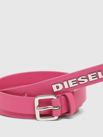 Diesel - B-LOWGO, Pink - Belts - Image 2