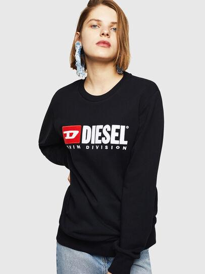 Diesel - F-GIR-DIVISION-FL, Black - Sweaters - Image 1